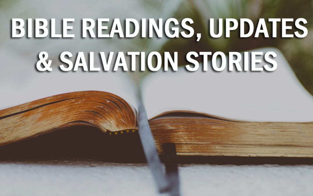 4-28-2020 A Salvation Story & Bible Reading