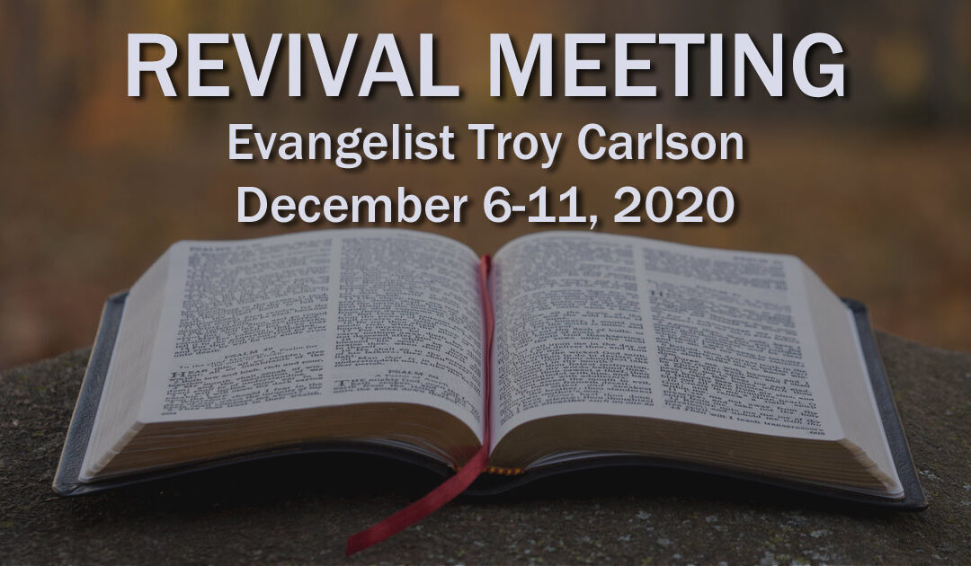 Evangelist Troy Carlson (Acts 1)